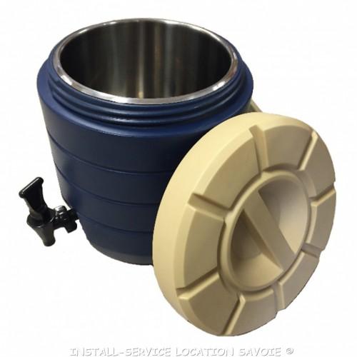 Conteneur isotherme pour liquides