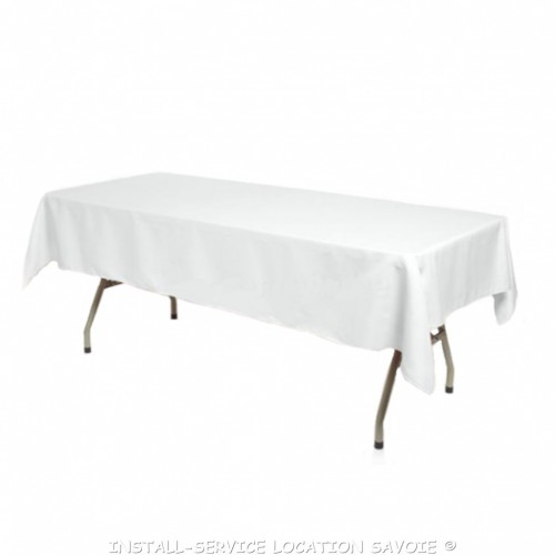 Nappe 250 X 140 cm blanche