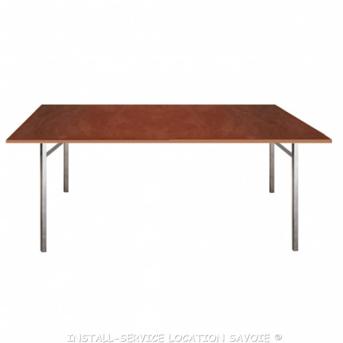 Table bois 200 X 75 cm