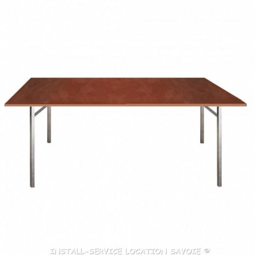 Table bois 200 X 75 cm