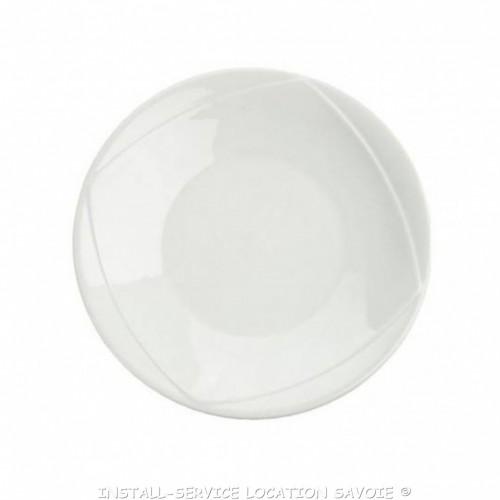 Assiettes plates Alba
