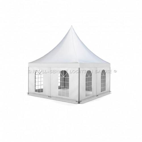 Tente pagode 5 X 5 mètres