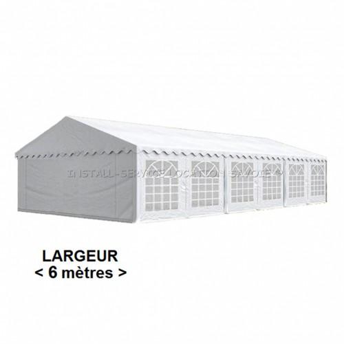 Tente de réception 6 X 10 mètres