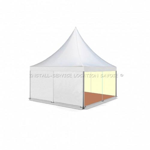 Tente pagode CRYSTAL 5 X 5 mètres