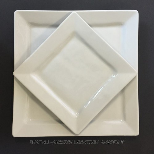 Assiette plate Quartet