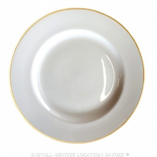 Assiettes plates Filor