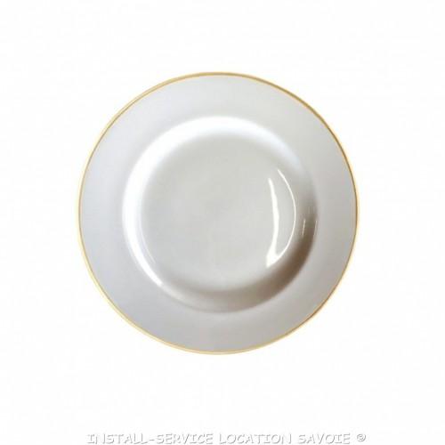 Assiette plate Filor
