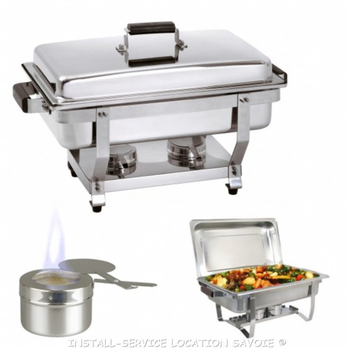 Chafing dish GN 1/1 alcool gel