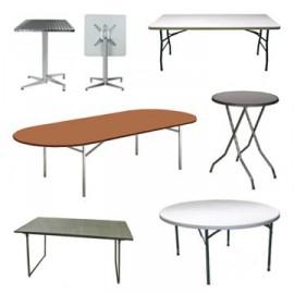 Tables et mange-debout