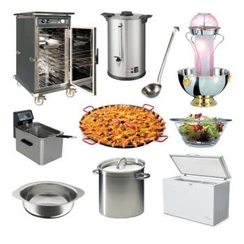 Plats et matériel de cuisine